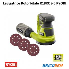 Levigatrice rotorbitale 125mm 18V ONE+ Ryobi ONE+ R18ROS-0 5133002471