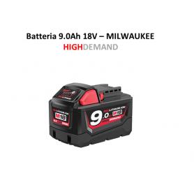 Batteria Orginale MILWAUKEE M18 B9 18 Volt 9 Ah  Red Lithium-ion