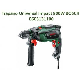 Bosch 0603131100 Trapano Battente UniversalImpact 800 W, Verde