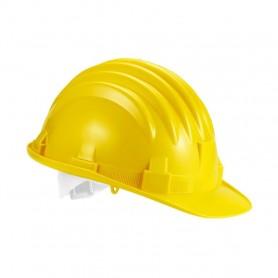 Elmetto da lavoro casco protezione colore giallo
