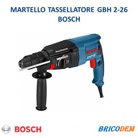 TRAPANO MARTELLO TASSELLATORE PERFORATORE BOSCH PROFESSIONALE GBH 2-26 SDS PLUS