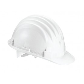 Elmetto da lavoro casco protezione colore bianco