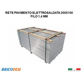 PANNELLI RETE METALLICA ZINCATA ELETTROSALDATA 60x60 MISURA CM 200 x100  pz 20