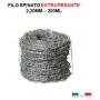 Filo spinato zincato EXTRA PESANTE 2,2MM 200ML