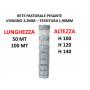 Rete Pastorale Pesante vivagno 2,2 tessitura 1,9mm H100 120 140 Lunghezza 50 100 mt