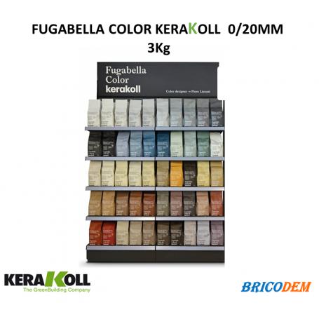 Fugabella Color fuga resina cemento per piastrelle marmo kg.3 Kerakoll 50 colori
