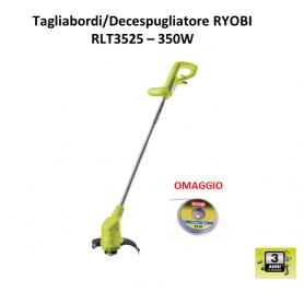 Tagliabordi Decespugliatore Elettrico Ryobi RLT3525 e Rifilatore leggero
