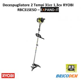 Ryobi Professionale RBC31SESO Decespugliatore Cilindrata 31cc 2 Tempi 1,3cv Lama