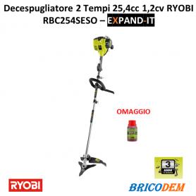 Ryobi Professionale RBC254SESO Decespugliatore Cilindrata 25,4cc 2 Tempi 1,2cv Lama 26CM