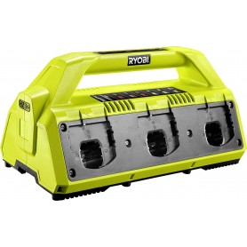 Caricabatteria Ryobi 5133002630 - RC18-627 Base di ricarica per 6 Batterie