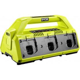 Caricabatteria Ryobi 5133002630 - RC18627 Base di ricarica per 6 Batterie