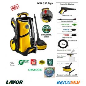Lavor LVR4 150 Digit - Idropulitrice Compatta per Casa 150 bar con Smart System
