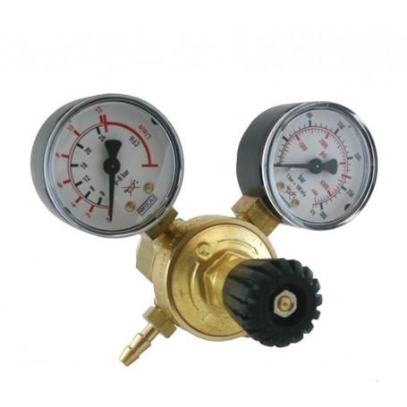 Riduttore di pressione in ottone con doppio manometro, Telwin 722119