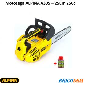 Motosega da potatura a scoppio Alpina A305 - CC. 25 - lunghezza barra cm. 25