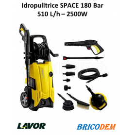 Idropulitrice Lavorwash a freddo Lavor Space 180- Elettrica acqua fredda 180 bar