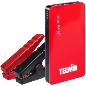 Telwin Drive Mini Avviatore Portatile e Power Bank