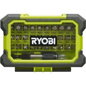 Ryobi bitset rak32msd, 32 pezzi, 1 pezzi, nero/verde, 5132002798