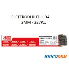 ELETTRODI RUTILI PER SALDATURA 2 MM 2.5 KG TELWIN 802737 PACCO 227 Pz.