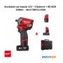 "MILWAUKEE FUEL™ M12 FIWF12-423X Avvitatore ad impulsi 12V Attacco ½"" +3 Batterie"