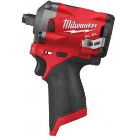 "MILWAUKEE FUEL™ M12 FIWF12-0 Avvitatore ad impulsi 12V Attacco ½"""