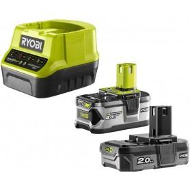 Kit Batteria e caricabatteria Ryobi RC18120-242 18V