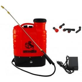 Pompa irroratrice spalleggiata a batteria Ausonia - a zaino elettrica, 16 litri 38006