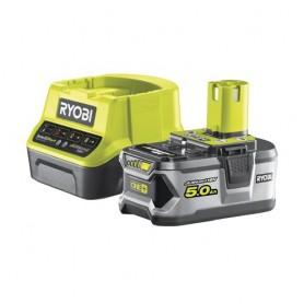 Kit Caricabatterie e batteria 18V 5,0 Ah Ryobi RC18120-150