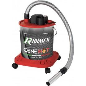 Aspiracenere Ribimex Cenehot 950W ceneri calde aspira per stufe a pellet camini 18LT
