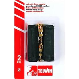 Spinotti prese dinse maschi saldatrice telwin originali 25mmq 802558