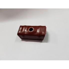 Cappellotto fissaggio per lamiera grecata colore Rosso siena