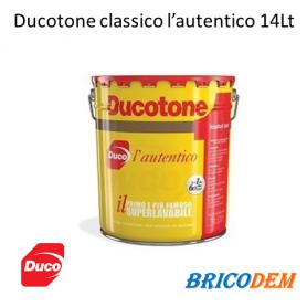 Ducotone classico pittura murale Duco l'autentico 14 Lt resa due mani 112-126Mq