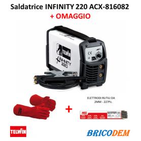 Saldatrice inverter Telwin Infinity 220 230V acx - 816082