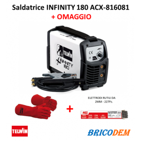 Saldatrice inverter Telwin Infinity 180 230V acx - 816081