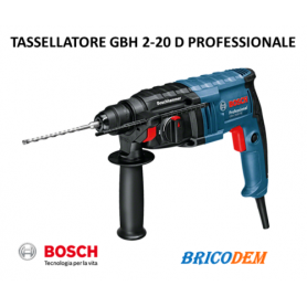 BOSCH Martello pneumatico GBH 2-20 D professional SDS-PLUS 061125A400