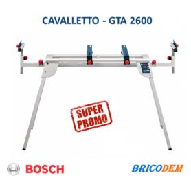 Banco pieghevole GTA 2600 Bosch 0601B12300