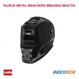 Maschera LCD saldatura autoscurante MMA/MIG-MAG/TIG TAURUS 804094 TELWIN CASCO