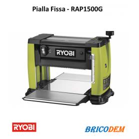 Pialla fissa spessore elettrica RYOBI RAP1500G per legno da banco professionale