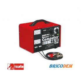 COMPUTER 48/2 Cariacabatteria 6-12-24-36-48v + amperometro e voltometro TELWIN