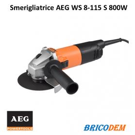 Smerigliatrice AEG WS 8-115 S 800W