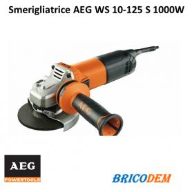 Smerigliatrice AEG WS 10-125 S 1000W