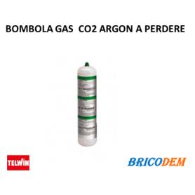 Bombola GAS co2 Argon a perdere non ricaricabile