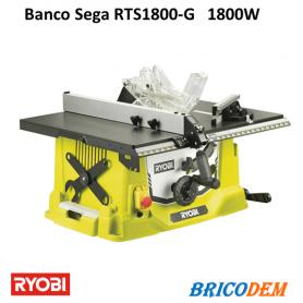 Banco sega Ryobi RTS1800-G Circolare Lama Professionale Rapporto Qualità Prezzo