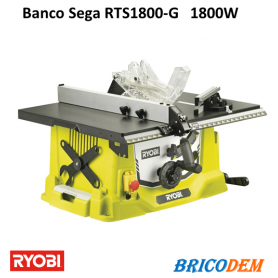 Banco Sega RYOBI RTS1800-G