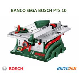 Bosch 0603B03400 PTS 10 Banco Sega, 1400 Watt, Profondità di Taglio a 90° 75 mm