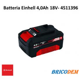 Batteria Einhell Power X-Change 18V 4,0 Ah ioni di litio 4511396