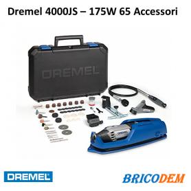 Dremel 4000 JS  65 accessori 4 complementi