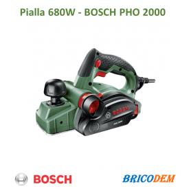 Pialla elettrica per Legno 680 Watt Profondità Max 2.0 mm Bosch PHO 2000