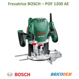 BOSCH fresatrice verticale 6mm 1200w 11000/28000 g/min. POF 1200 AE