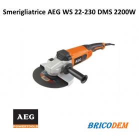 Smerigliatrice AEG WS 22-230 DMS 2200W