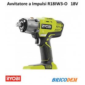Avvitatore ad impulsi a batteria 18V Ryobi R18IW3-0